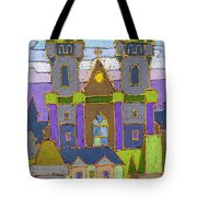 Prague Panorama Tote Bag