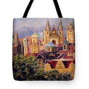 Prague. Roofs. Tote Bag