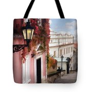 Prague Stairs Tote Bag