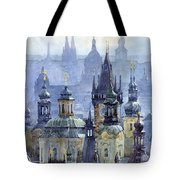 Prague Towers Tote Bag