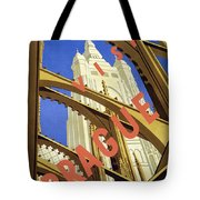Prague Travel Poster Tote Bag