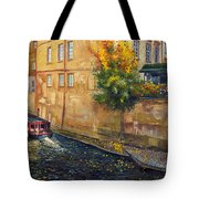 Prague Venice Chertovka 2 Tote Bag