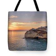 Praia Do Carvoeiro Sunset Tote Bag