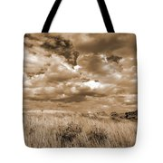 Prairie And Sky Tote Bag