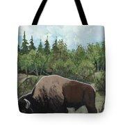 Prairie Bison Tote Bag