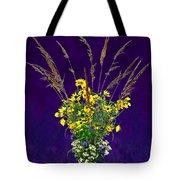 Prairie Bouquet Tote Bag