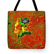 Prairie Dogs Abstract Tote Bag