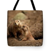 Prairie Dogs Tote Bag