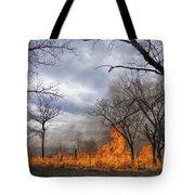 Prairie Fire Tote Bag