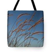 Prairie Grass Landscape Tote Bag