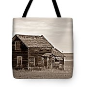 Prairie Home Sepia Tote Bag