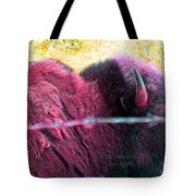 Prairie Icon Not Meant To Be Caged Tote Bag