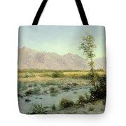 Prairie Landscape Tote Bag