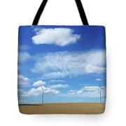 Prairie Landscape Alberta Canada Tote Bag
