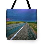 Prairie Storm Saskatchewan Tote Bag