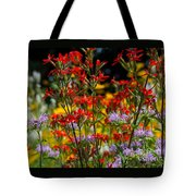 Prairie Wildflowers 2 Tote Bag