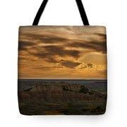 Prairie Wind Overlook Badlands South Dakota Tote Bag