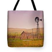 Prairie Windmill Tote Bag