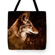 Prairie Wolf Portrait Tote Bag