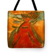 Praise God - Tile Tote Bag