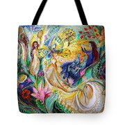 Praise Him With The Timbrel And Dance Tote Bag