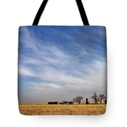 Prarie House Tote Bag
