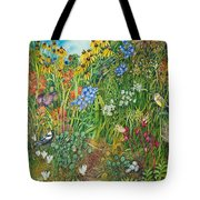 Prarie IIi Tote Bag by Helen Klebesadel