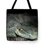 Prarie Rattle Snake Tote Bag