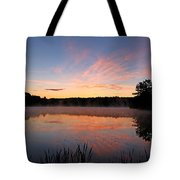 Prat Pond Morning Tote Bag