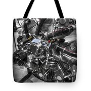 Pratt And Whitney  Engine Aeronautics Tote Bag