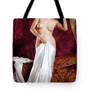 Praxiteles Wept Tote Bag