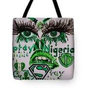 Pray For Nigeria Tote Bag