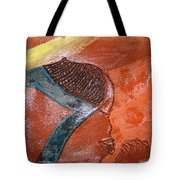 Prayer 17 - Tile Tote Bag