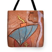 Prayer 25 - Tile Tote Bag