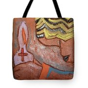 Prayer 26 - Tile Tote Bag