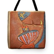 Prayer 29 - Tile Tote Bag