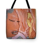 Prayer 33 - Tile Tote Bag