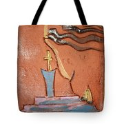 Prayer 34 - Tile Tote Bag