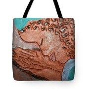 Prayer 36 - Tile Tote Bag