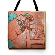 Prayer 40 - Tile Tote Bag