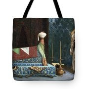 Prayer At The Sultan's Room  The Grief Of Akubar  Tote Bag