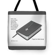 Prayer For Bible Study Tote Bag