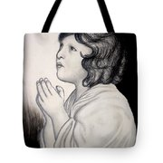 Prayer Is The Master-key Tote Bag