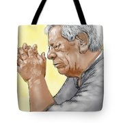 Prayer Of A Righteous Man Tote Bag