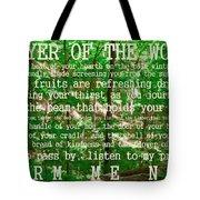 Prayer Of The Woods 2.0 Tote Bag
