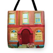 Prayer Shawls Tote Bag