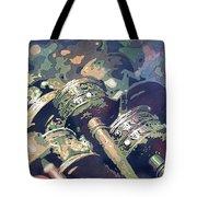 Prayer Wheels- Nepal Tote Bag