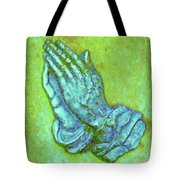 Prayer 3 Tote Bag
