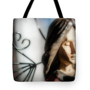 Prayerful Angel Tote Bag
