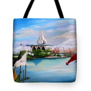 Prayers At Waterloo Tote Bag